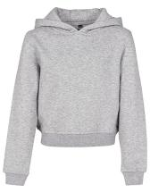 Girls Cropped Sweat Hoody
