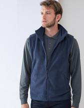 Men`s Sleeveless Microfleece Jacket