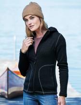 Womens Outdoor Hooded Fleece Jacket